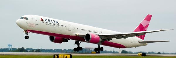 Pink Plane Copyright Delta