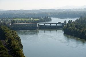 Ryburg-Schwrstadt wasserkraftwerk