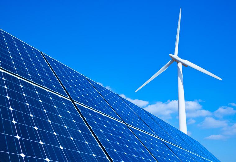 Der Ausbau der erneuerbaren Energien in Deutschland geht voran.