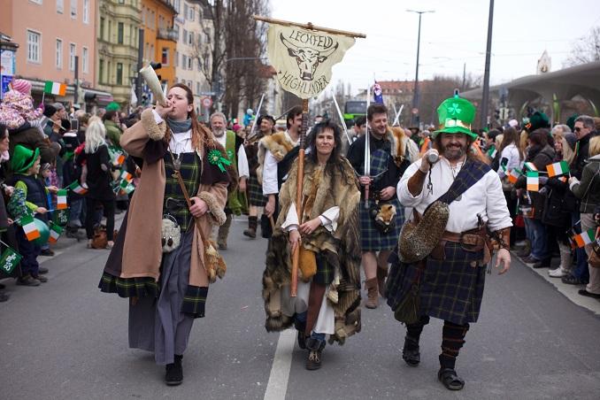 St. Patricks Day München