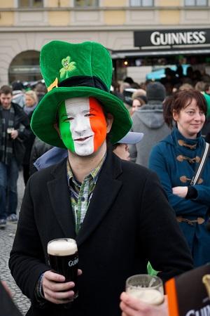St Patricks Day München Irland