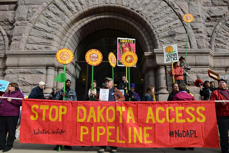 Demo: Stop Dakota Access Pipeline
