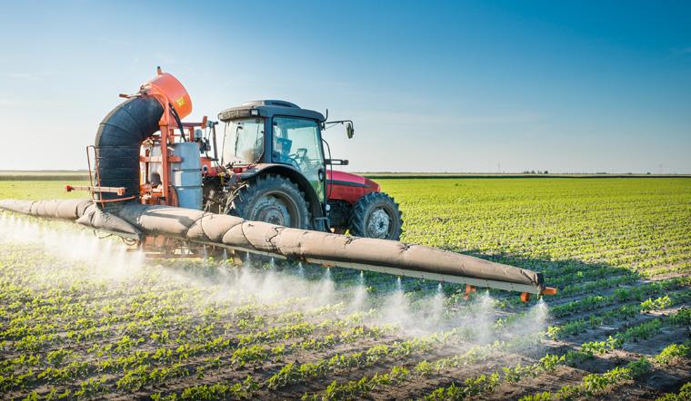 Traktor Pestizide