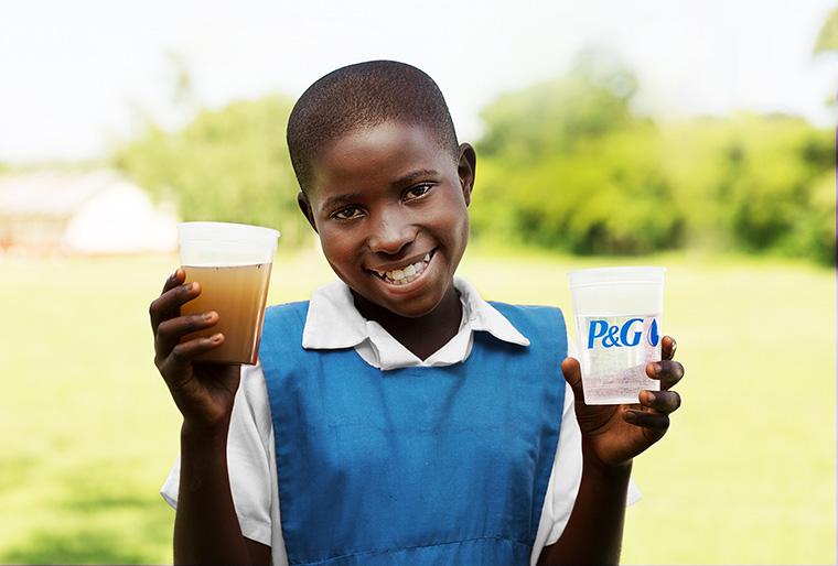 Unterstützenswerte Spendenaktion für sauberes Trinkwasser