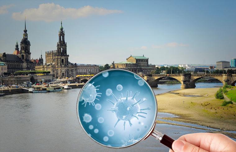 Dresdner Impfstoff-Firma lässt Viren in die Elbe fließen