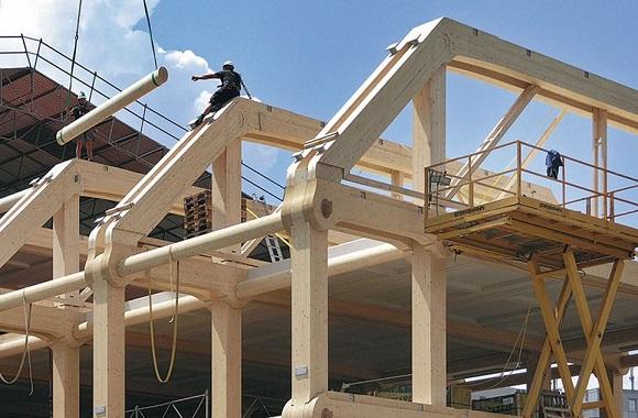 Bürogebäude in Zürich: Sieben Stockwerke pures Holz