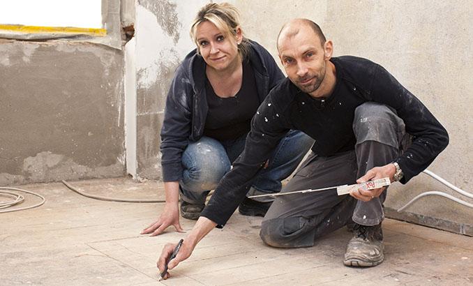 Nicole Wessling und Dirk Lange ersteigerten gleich ein ganzes Mietshaus. © ZDF, Igor Zagorskiy