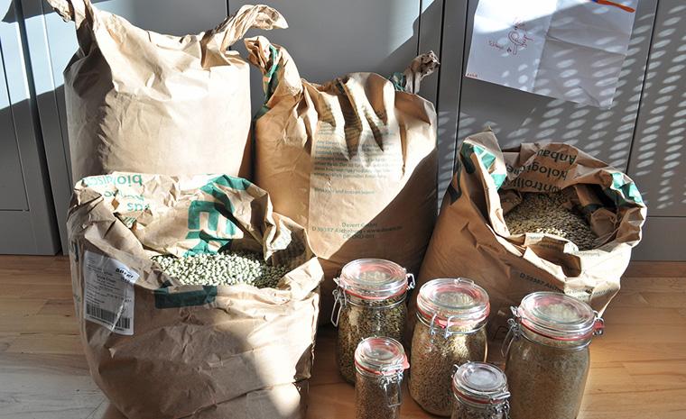 Zero Waste, Waren praktisch im eigenen Behälter abholen