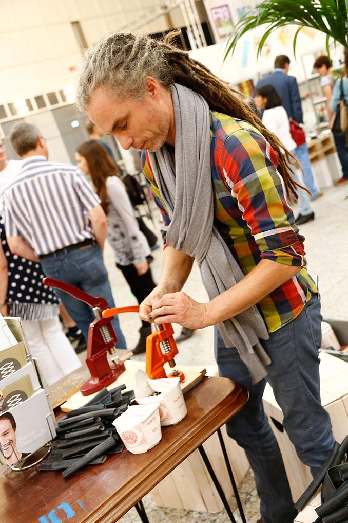 Workshop auf der Messe in Dortmund.
