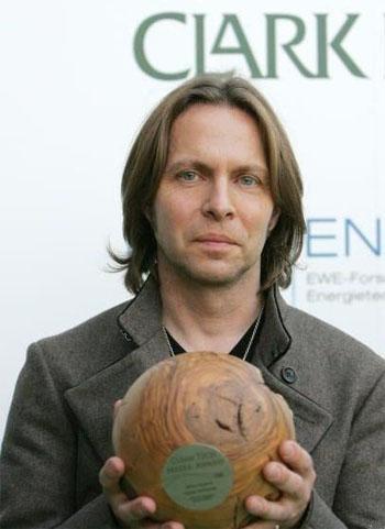 Clark Datchler ist der erste Preisträger des Green Music Awards 2008 ©GreenTec Awards