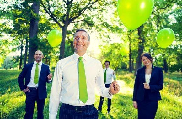 Nachhaltigkeitsberichte im Fokus vieler Unternehmen