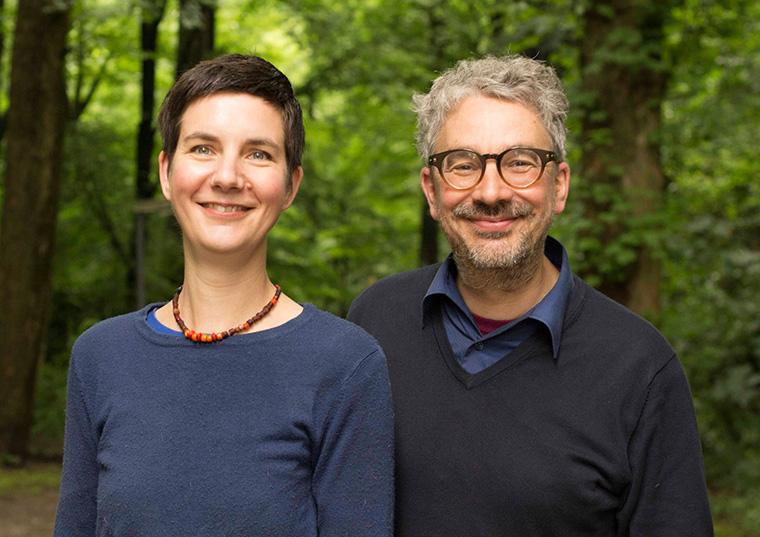 Ilona Koglin und Marek Rhode wollen mir dir die Welt retten.
