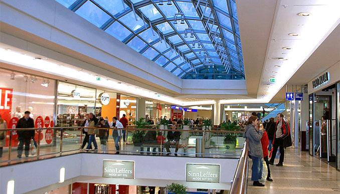 Das Shopping-Center im Hambruger Stadtteil Harburg ist umweltfreundlich und bietet trotzdem höchsten Komfort © ECE Projektmanagement GmbH & Co. KG