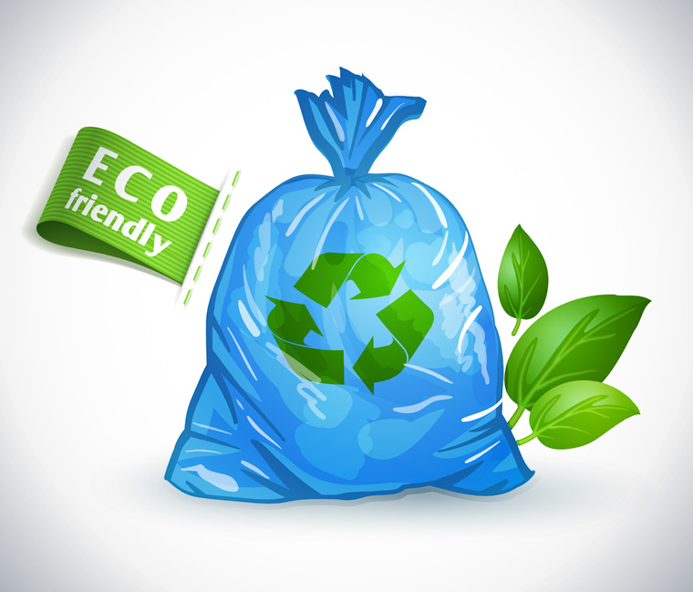 Eco friendly plastic bag