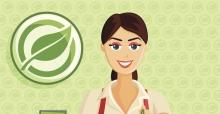 Grün regional einkaufen