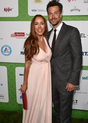 Annemarie Carpendale, hier mit ihrem Mann Wayne, hat die diesjährigen GreenTec Awards moderiert