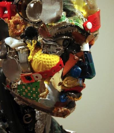 Beeindruckende Werke aus Abfall