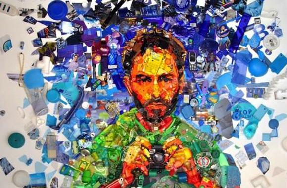 Müll-Kunst: Skulpturen von Dario Tironi