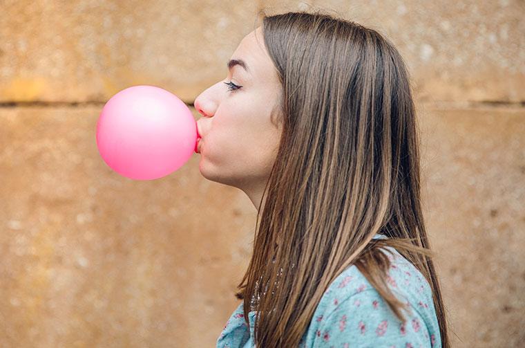 Schaden Kaugummi kauen unserer Gesundheit?