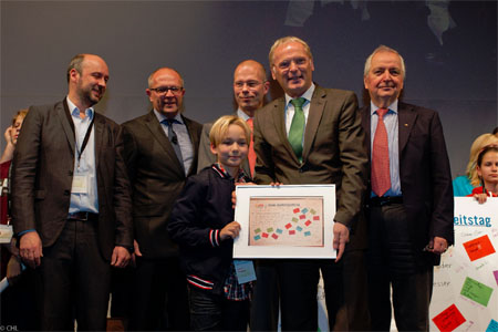 Kinderkanal von ARD und ZDF mit dem Nachhaltigkeitspreis 2011 ©Christian Lietzmann