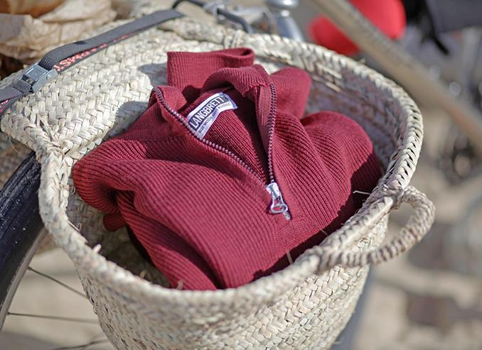 Pullover in rot von der Marke Langrett
