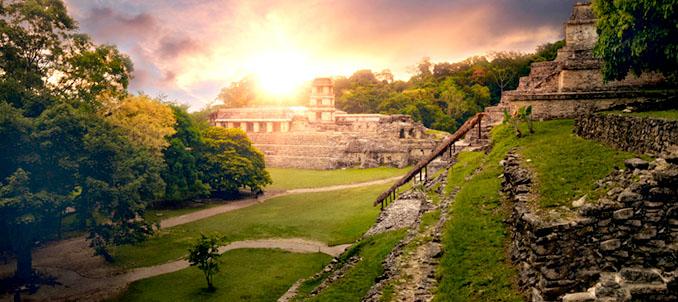 Maya Tempelanlage