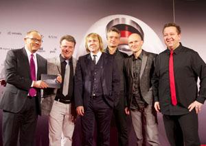 Die Prinzen beim Nachhaltigkeitspreis 2012