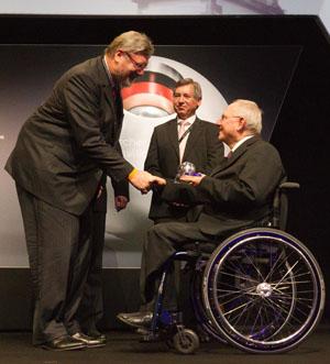Wolfgang Schäuble beim Nachhaltigkeitspreis 2012