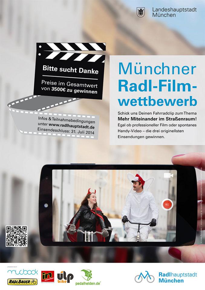 Jetzt noch teilnehmen und gewinnen! Wir wünschen viel Erfolg © Radlhauptstadt München