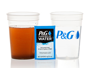 P&G Purifier of Water Packs