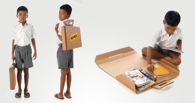Als Koffer oder Rucksack tragbar. Einfach aufbauen und fertig © Aarambh