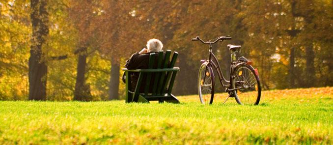 Der goldene Herbst lässt sich barrierefrei am besten Leben © Volker Kreinacke (iStock/thinkstockphotos)
