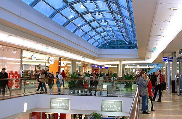 Nachhaltige Shopping-Center in Hamburg