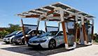Sonne im Tank: Solar-Carport für Elektrofahrzeuge