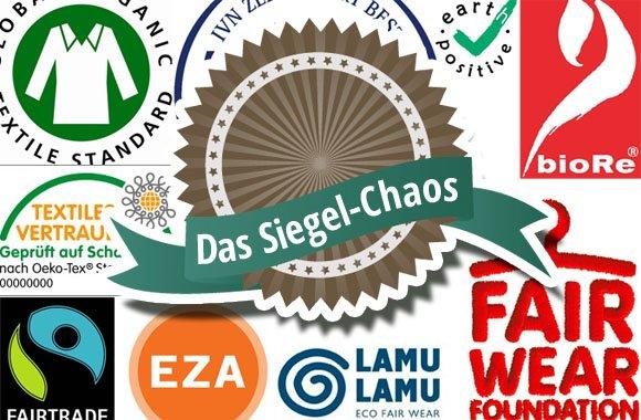 Chaos bei Ökosiegeln in der Modebranche