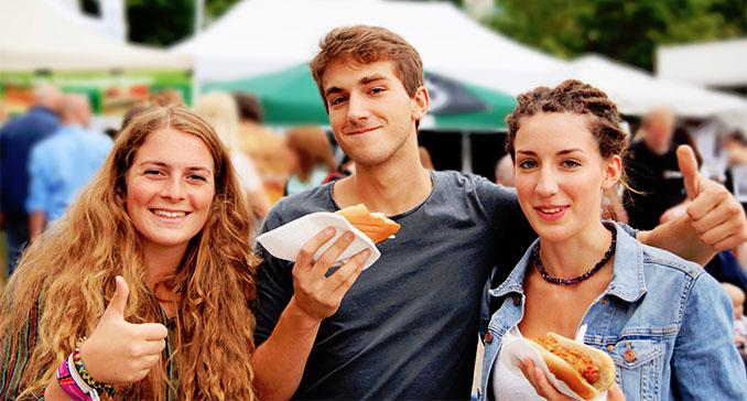 Jede Menge fröhliche VSD-Besucher Foto: Till Hummel