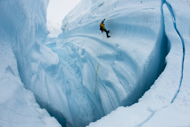 Chasing Ice Oskar nomninierter Film dokumentiert Klimawandel und Eisschmelze