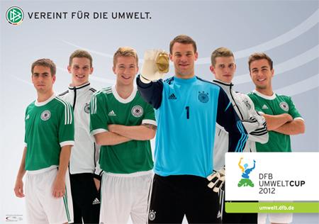 DFB Umweltcup: Teilnehmen die Umwelt schützen und ein Training mit Jogi Löw gewinnen