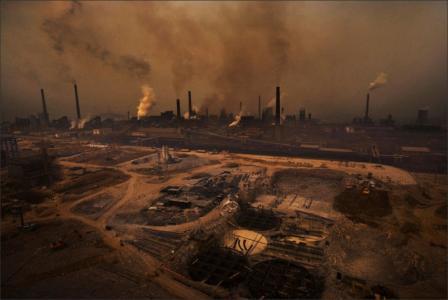Smog in Peking: Folge von rasantem Wirtschaftswachstum und Umweltverschmutzung