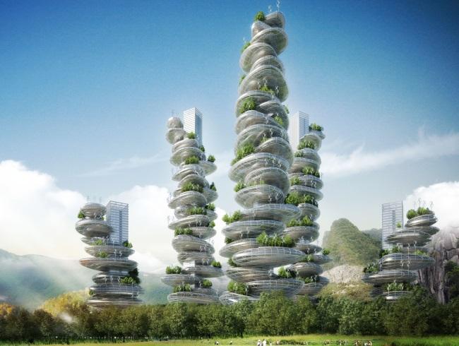 Nachhaltige Architektur: Urban Farming in der vertikalen Stadt