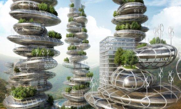 nachhaltige architektur und die vertikale stadt von vincent callebaut. Black Bedroom Furniture Sets. Home Design Ideas