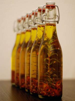 Präsente Kräuter Öl