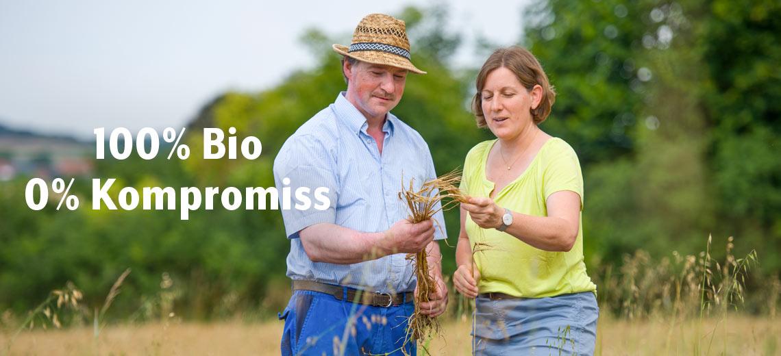 100% Bio 0% Kompromiss