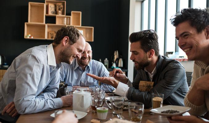 Das Unternehmen wurde von fünf jungen Köpfen gegründet © 5CUPS and some sugar