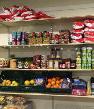 Abgelaufene Lebensmittel zum Verkauf bei Sharehouse