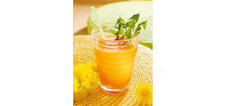 Dieser Drink stimuliert den gesamten Zellstoffwechsel des Organismus und fördert eine schöne reine Haut.