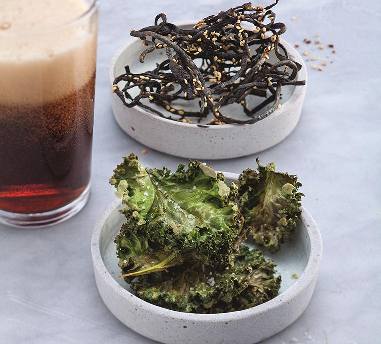 Algen-Snack