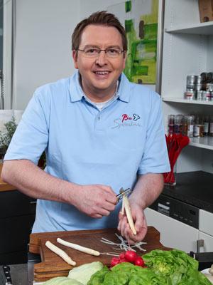 BIOSpitzenkoch Andreas Weihmann ist überzeugt: ?Nur mit Bio kann ich nachhaltig, fair und spitze kochen.?
