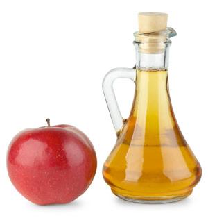 Obwohl Apfelessig sauer schmeckt, wirkt er basisch