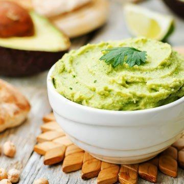 Leckeres Avocado-Hummus Rezept